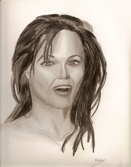 Angelina Jolie by rouby